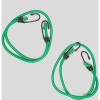 OEX 4 PACK BUNGEES SET, Green