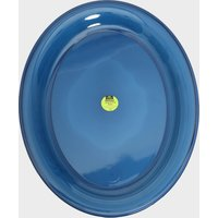 Airgo Deluxe Large Plastic Plate, Blue