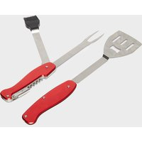 Hi-Gear Deluxe Barbecue 5 In 1 Tool - Red/Red, RED/RED