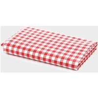 HI-GEAR Gingham Camping Tablecloth, Red/White