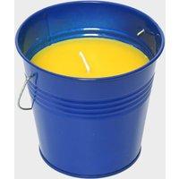 Hi-Gear Citronella Large Bucket Candle - Blue, Blue