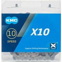 Kmc Chains X10 Bike Chain - Silver/Grey, Silver/Grey