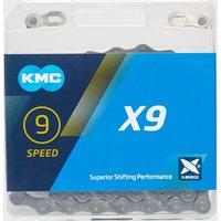 Kmc Chains X9 Bike Chain - Grey, Grey