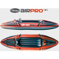 Clever Aipro X1 Inflatable Kayak, Orange