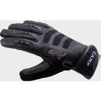 Camp Axion Belay Gloves, Black/GLOVE