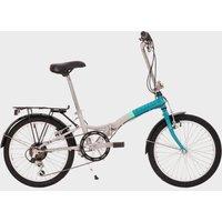 Compass 'Northern' Folding Bike - White/Blue, WHITE/BLUE