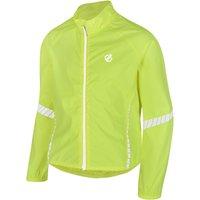 Dare 2B Kids' Cordial Waterproof Cycling Jacket, Yellow