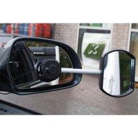 STREETWIZE Suck it & See Mirror (Flat Glass), SILVER/BLACK