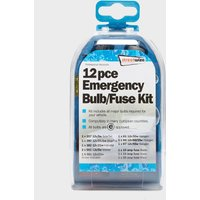 Streetwize 12 Piece Emergency Bulb And Fuse Kit - Blue/Kit, Blue/KIT