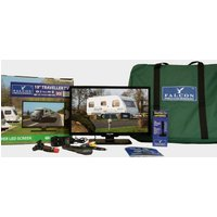 "Falcon Tv Plus Pack - 19"" Led Tv, 12V & Mains With Magnet - Multi/Ki, Multi/KI"