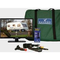 """Falcon Tv Plus Bluetooth Pack - 22"""" Led Tv, 12V & Mains With Magnetic Mount - Ki/Ki, KI/KI"""