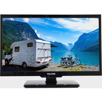 Falcon 19 Hd Travel Tv With Dvd  Freeview  Freesat  Usb   Black/blue