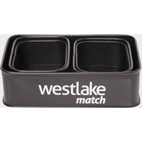 Westlake 5Pc Rectangular Bait Pack - Black, Black