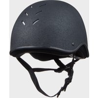Charles Owen Adult's Js1 Riding Helmet - Black/Black, Black/BLACK