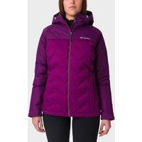 Columbia Womens Grand Trek Down Jacket - Purple/Wmns,