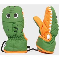 Snowlife Kids' Animal Crocodile Mitts, Green