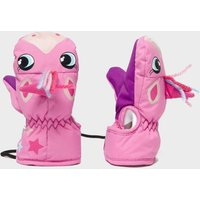 Snowlife Kids' Animal Unicorn Mitts, Pink