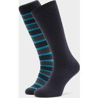 The Edge Men's Parallel Thermal Socks, Grey