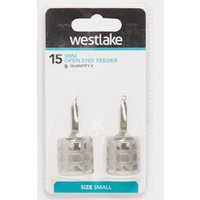 Westlake 15GM MINI OPEN ENDED, Silver/2PK