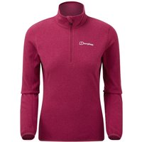 Berghaus Womens Hendra Half Zip Fleece  Pink