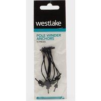 Westlake Pole Winder Anchors (Pack Of 10) - Black/10Pcs, Black