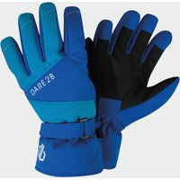 Dare 2B Kids' Fulgent Stretch Ski Gloves, GLOVE/GLOVE