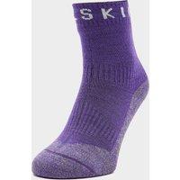 Sealskinz Soft Touch Waterproof Ankle Socks - Purple, Purple