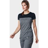 Berghaus Womens Voyager Tech Tee Ss Crew  Grey