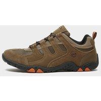 Hi Tec Men's Quadra Classic Walking Shoes, BROWN/TP/OR