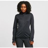 Craft Women's Eaze Sweat Hood Jacket, Black/BLK