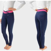 Battles Brixton Elasticated Ladies' Jodhpurs - Navy, Navy
