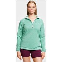 Craghoppers Women's Delacey Half-Zip Fleece, Green
