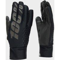 100% Men's Brisker Hydromatic Waterproof Gloves - Black, Black
