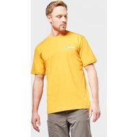 Berghaus Mens Small Logo T-shirt  Yellow
