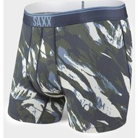 Saxx Men's Quest 2.0 Boxer Briefs, Camo/CMO