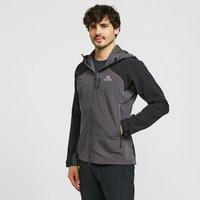 Mountain Equipment Men's Frontier Hooded Softshell Jacket, Black