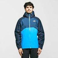 The North Face Mens Stratos Waterproof Jacket - Blu/Blu, BLU/BLU