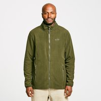 Peter Storm Men's Grid Full-Zip Fleece, Khaki/KHK
