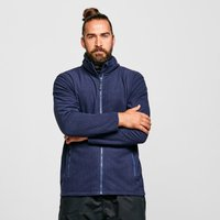 Peter Storm Men's Grid Full-Zip Fleece, Navy/NVY