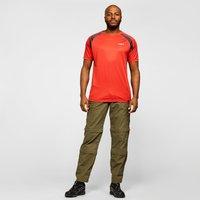 Oex Men's Zephyr Short Sleeve T-Shirt, Red