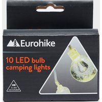Eurohike 10 LED Bulb Camping Lights, White/NO