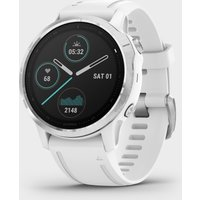 Garmin Fenix 6S Multi-Sport Gps Watch - White/Wht, White/WHT