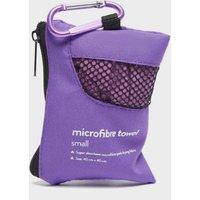 Eurohike Microfibre Mini Clip Towel (40X40Cm) - Purple/Pnk, Purple/PNK