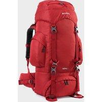Eurohike Nepal 65 Rucksack - Red, Red