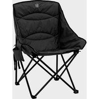 Hi-Gear Vegas Xl Deluxe Quilted Chair - Blk/Blk, BLK/BLK
