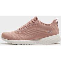 Skechers Women's Bobs Sport Squad Tough Talk Shoes, Pink/PNK