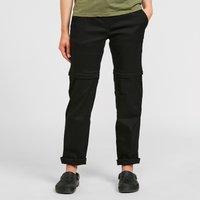 Craghoppers Womens Kiwi Pro Convertible Trousers (Regular) - Black, Black