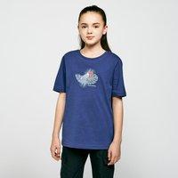 Craghoppers Kids' Olga Short Sleeved T-Shirt, DBL/DBL