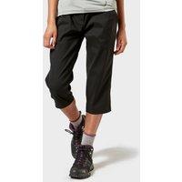 Craghoppers Womens Kiwi Pro II Cropped Trousers, Black/BLK