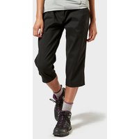 Craghoppers Womens Kiwi Pro Ii Cropped Trousers - Black/Blk, Black/BLK